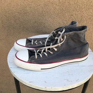 Converse all star sneakers for men size 10 black